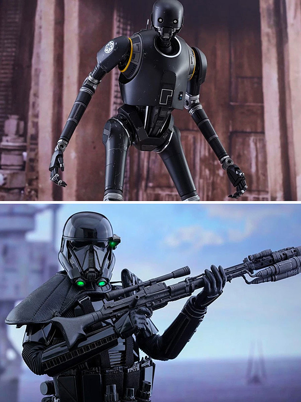 Sideshow x Hot Toys Rogue One Action Figures at werd.com