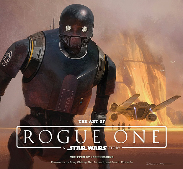 The Art of Rogue One: A Star Wars Story at werd.com