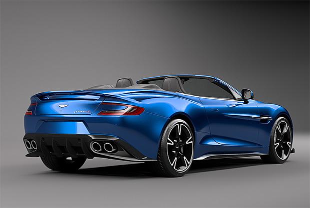 Aston Martin Vanquish S Volante at werd.com