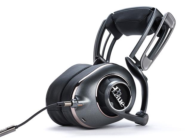 Blue Headphones at werd.com