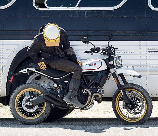 Ducati Scrambler Desert Sled at werd.com