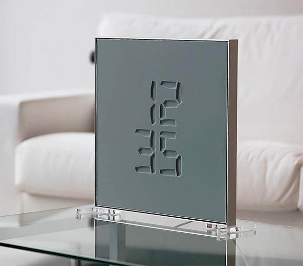 Etch Clock at werd.com