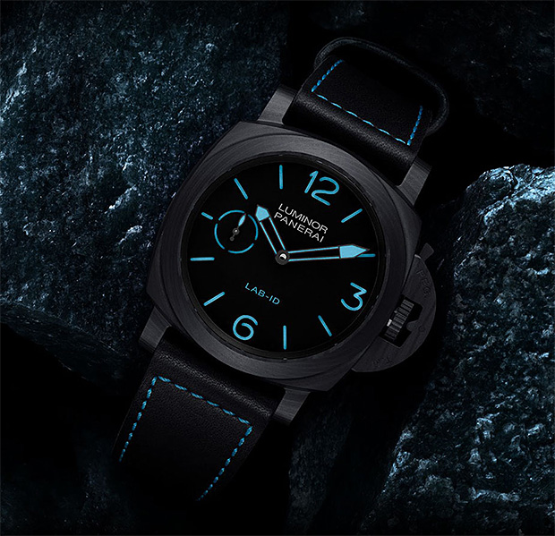 Panerai LAB-ID Luminor 1950 Carbotech at werd.com