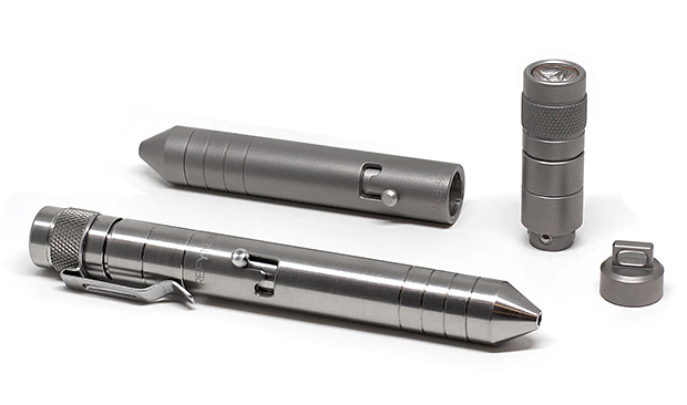 REFYNE – P1 Titanium EDC Pen & Flashlight at werd.com