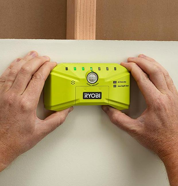 Ryobi Whole Stud Detector at werd.com