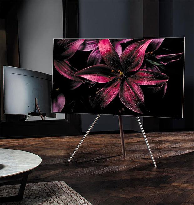 Samsung QLED 4K TVs at werd.com