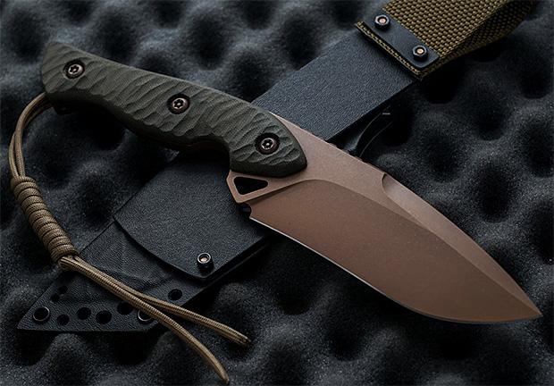 Torbé Custom Knives Jangle-Buster at werd.com