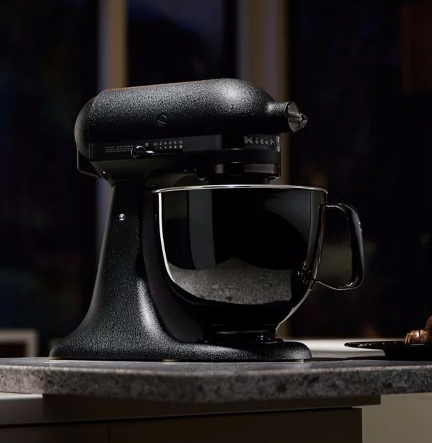 KitchenAid's Artisan Black Tie Stand Mixer Deserves a Prime Spot in Your Kitchen at werd.com