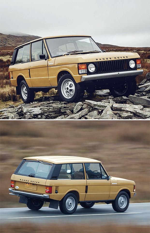 Range Rover Reborn at werd.com