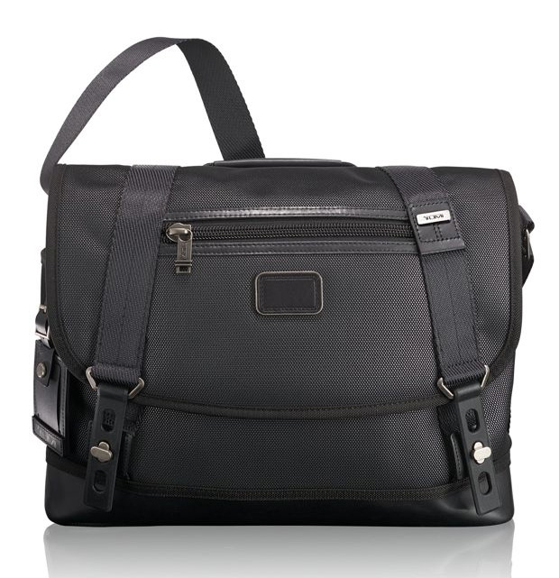 Tumi Releases a Reflective Version of it's Popular Alpha Bravo Foster Messenger at werd.com