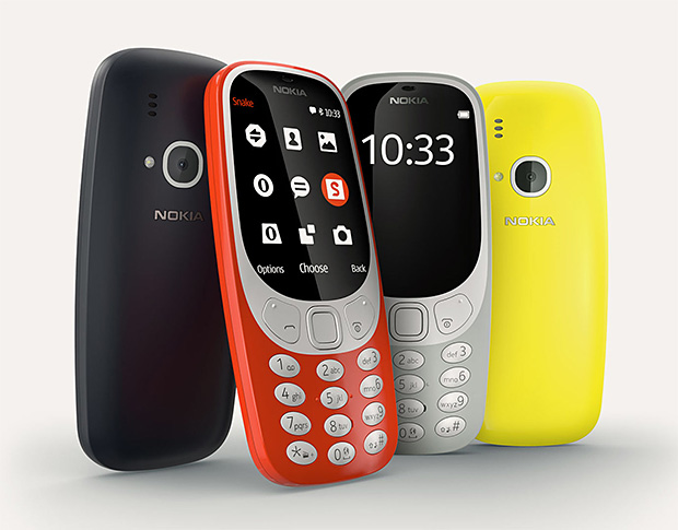 In a Nod to Nostalgia, Nokia Brings Back Their Iconic 3310 Phone with Some Modern Updates at werd.com