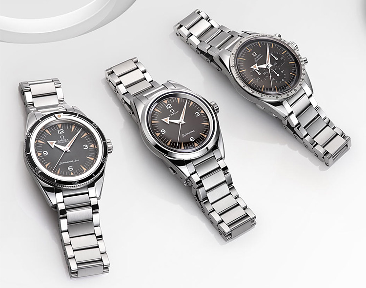 Limited-Edition 60th Anniversary Omega Watches: 3 Mechanical Masterpieces at werd.com