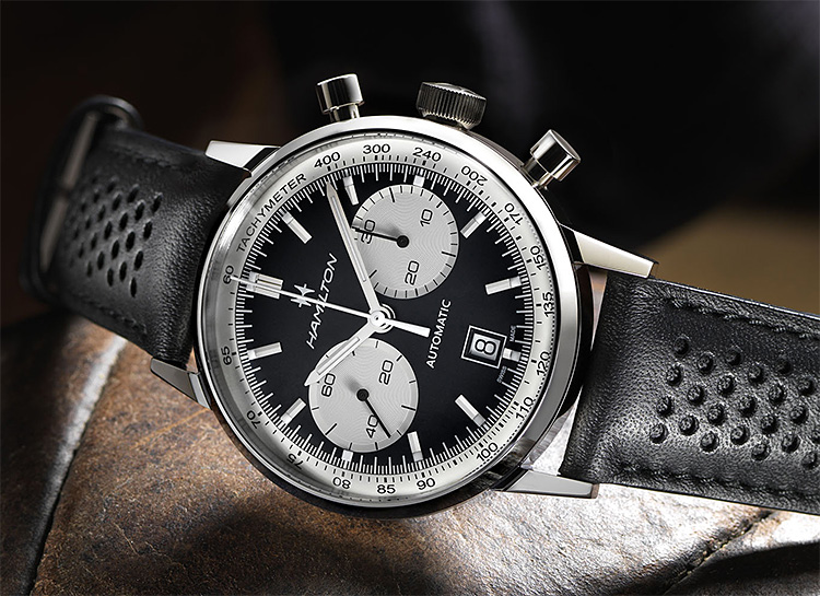 The Hamilton Intra-Matic 68 is a Modern Chrono Inspired by a 60s Classic at werd.com