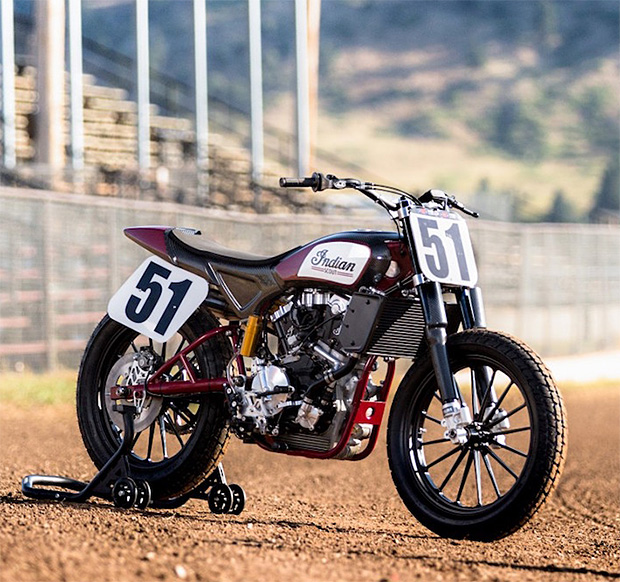 Indian's FTR750 Scout Flat Track Racer Now Available to the Public at werd.com
