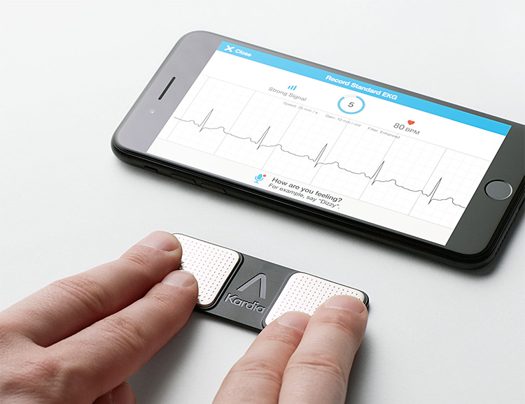 The Kardia Portable EKG Puts Heart Health Data at Your Fingertips at werd.com
