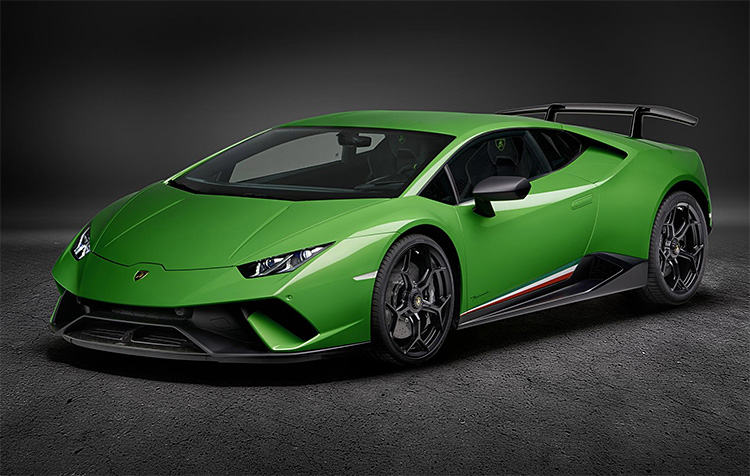 The World's Fastest Production Car: The Lamborghini Huracán Performante at werd.com