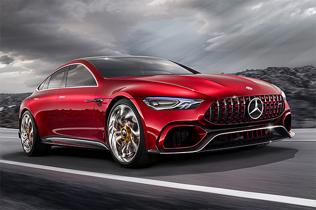 Believe It: The Mercedes AMG GT Concept is a Hybrid With 805 Horsepower at werd.com