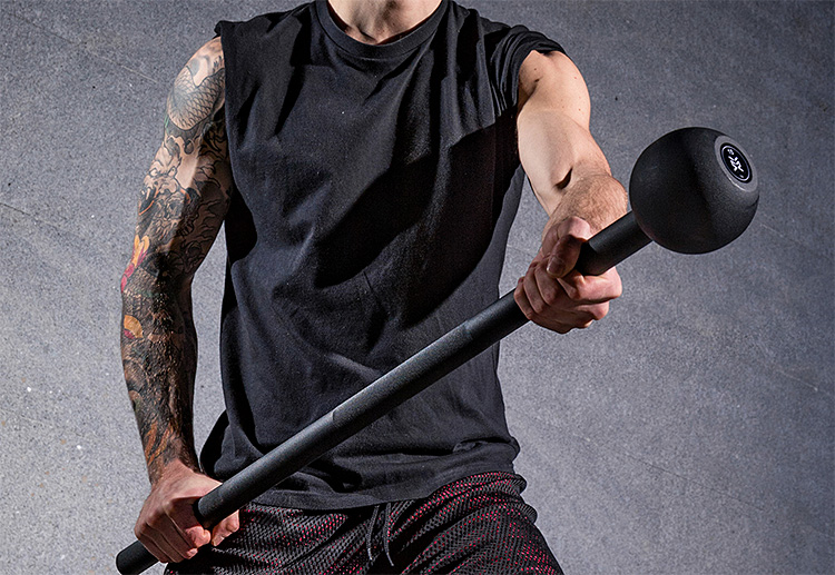 A New Workout Weapon For Your Arsenal: The Steel Mace at werd.com
