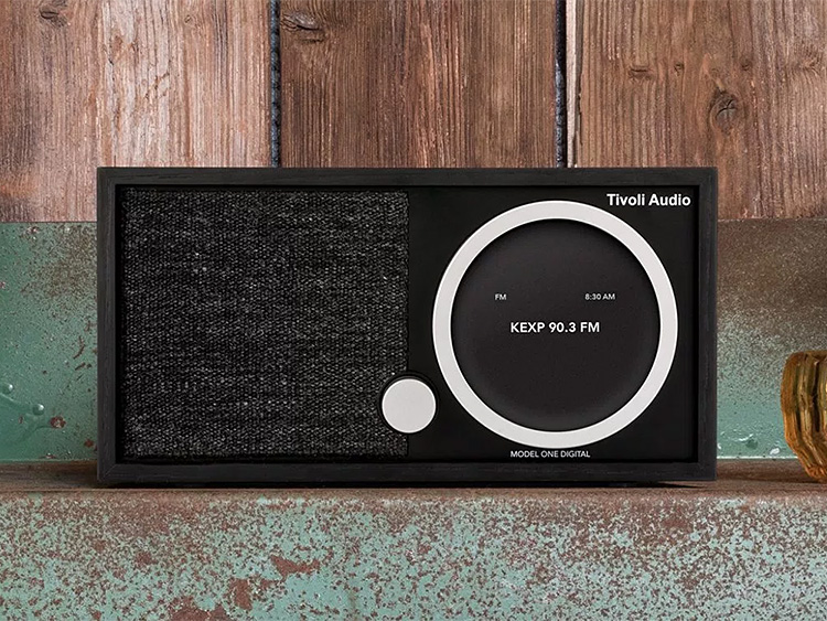 The Tivoli Model One Digital Combines Retro Style with Convenient, Modern Audio Function at werd.com