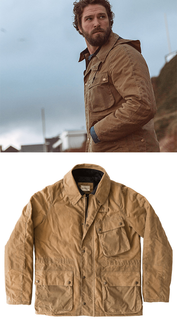 A Versatile, 3-Season Jacket From Whipping Post Made For the Modern Explorer at werd.com