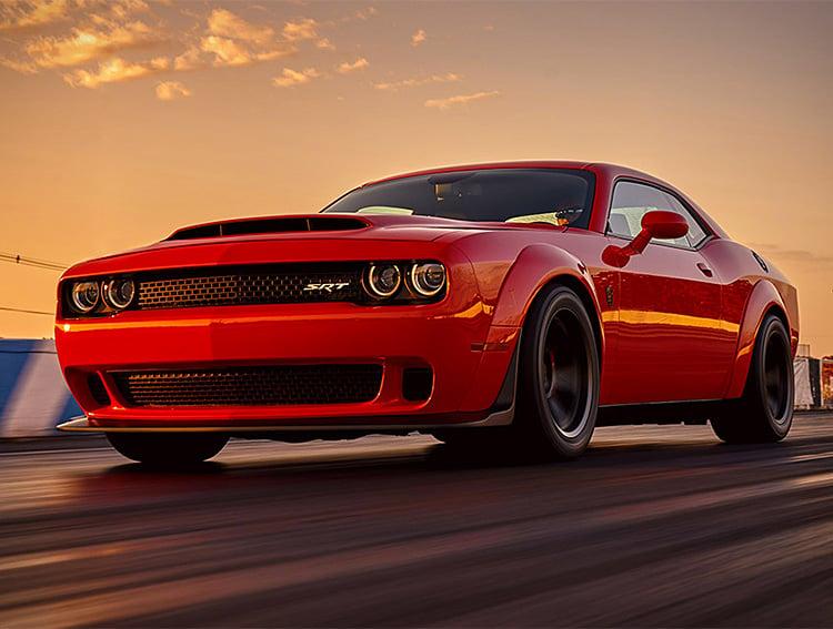 The Dodge Challenger SRT Demon Makes Other Muscle Cars Look Weak at werd.com