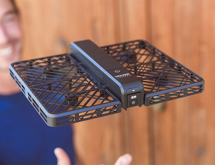 The Hover Camera Passport is a Mini Drone That Flies On Its Own at werd.com