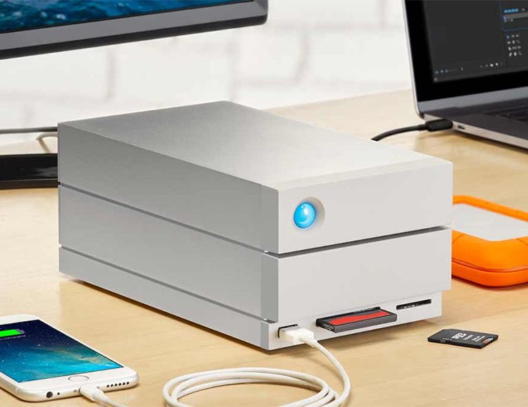 Go Big With LaCie's 2big Dock Thunderbolt Drive at werd.com