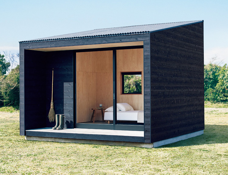 MUJI Introduces Modern Pre-Fab Tiny Homes at werd.com