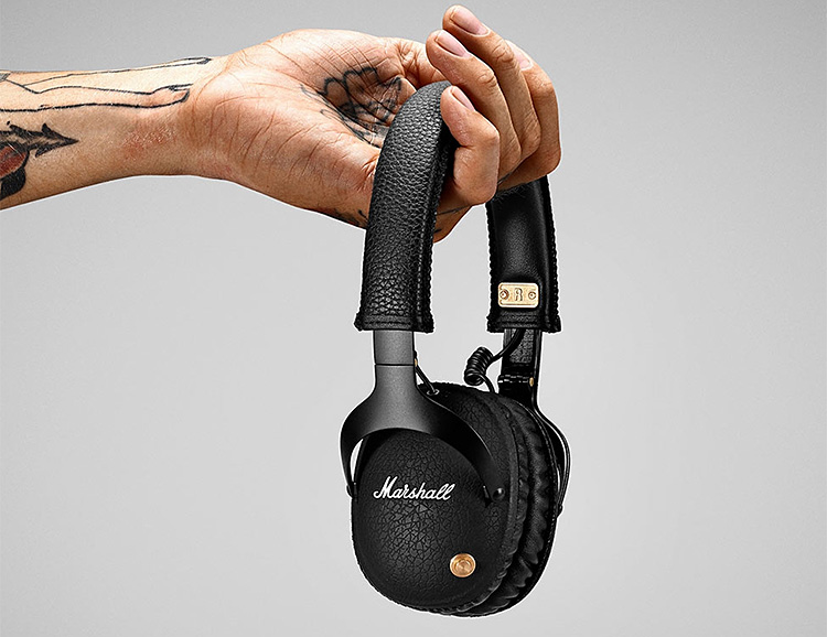 Marshall Cuts the Cord with the Release of the Monitor Bluetooth Headphone at werd.com