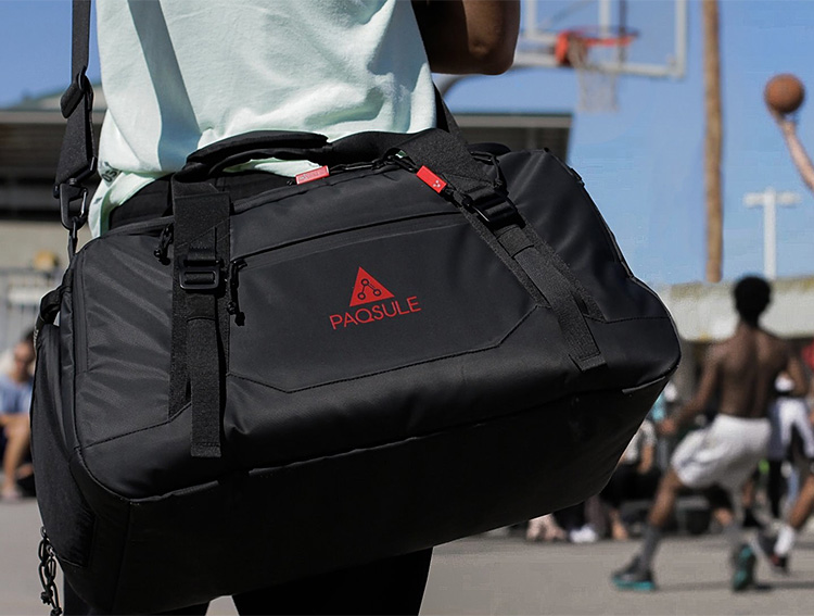 This Self-Cleaning Duffle Bag Keeps You Fresh at werd.com