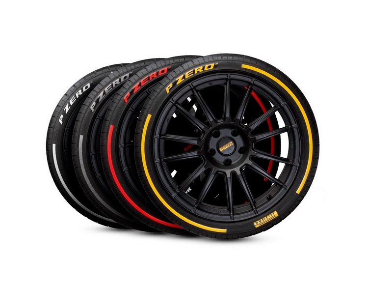 Pirelli P Zero Tires Deliver Colorful Custom Style & App-Driven Performance Data at werd.com