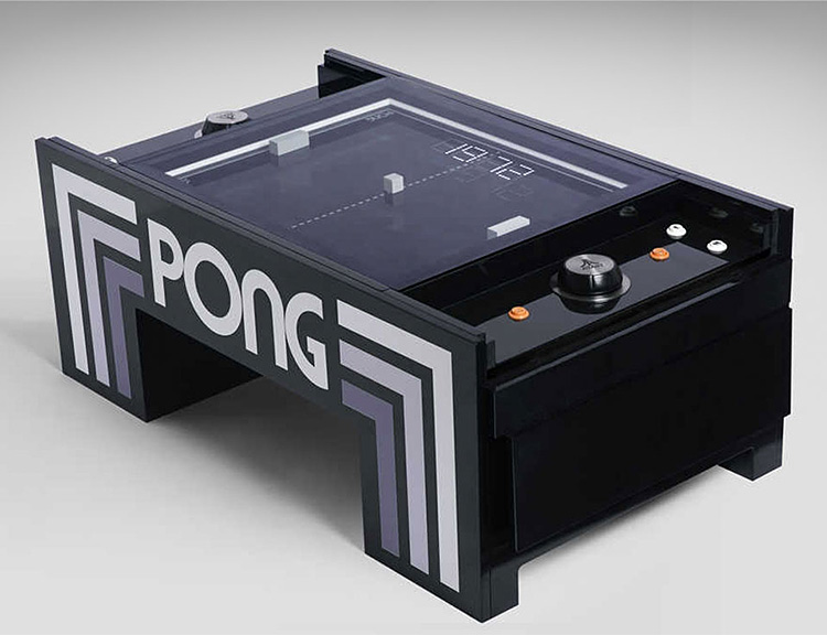 The Pong Table is an Atari Classic Like You've Never Played Before at werd.com