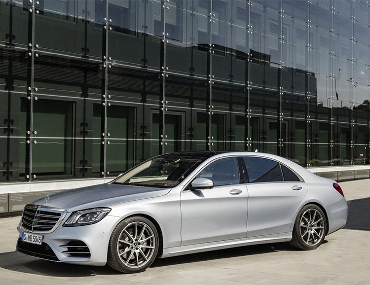 Mercedes Unveils the Upgraded & Updated 2018 S-Class Sedan at werd.com