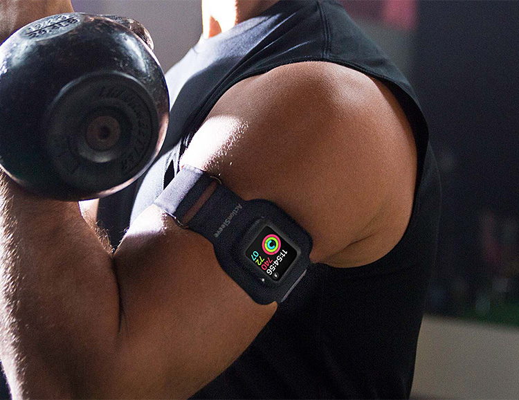 The ActionSleeve Armband Gets Your Watch Out Of The Way at werd.com
