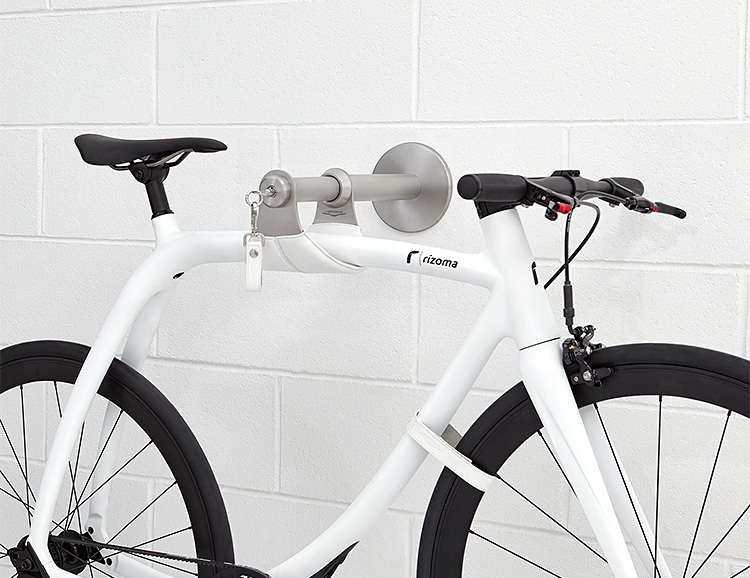 Bike Safe S Gives Your Bike a Secure Place to Hang at werd.com