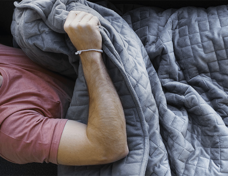 The Gravity Blanket Wants to Give You a Hug at werd.com