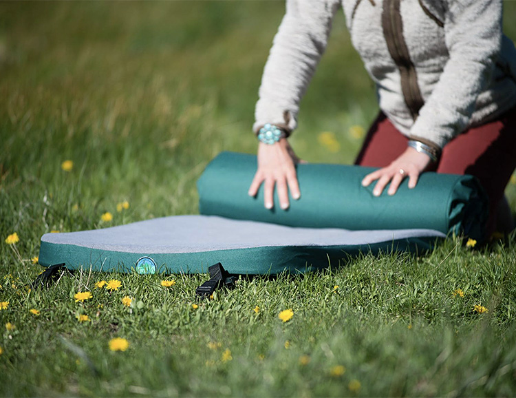 Roll It Out & Sleep Anywhere with LaidBack Pads at werd.com