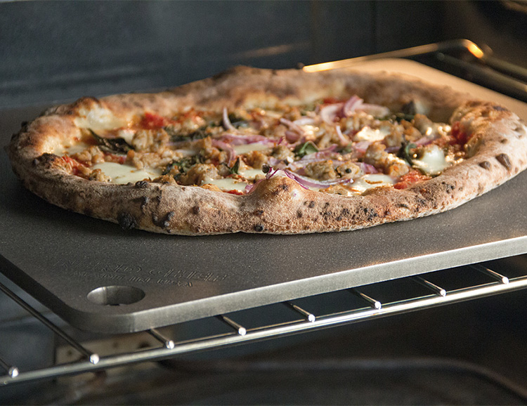 Upgrade Your Homemade Pizza with Steel Stone at werd.com