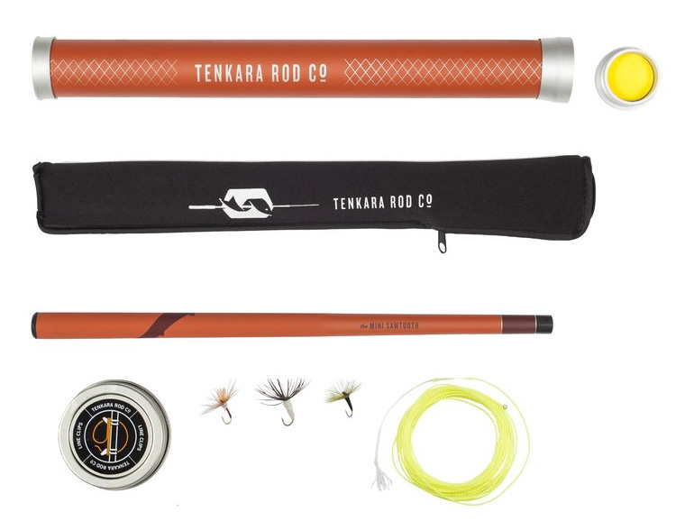 Flyfishing with a Pocket-Sized Rig: Tenkara Rod Co.'s Mini Sawtooth at werd.com