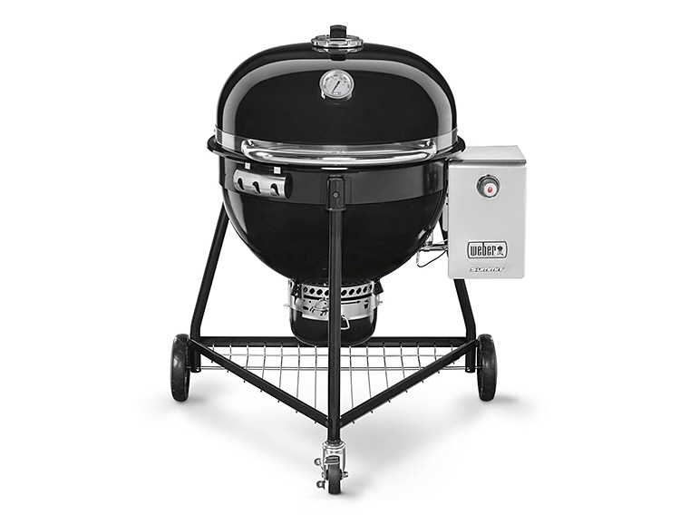 Weber's Summit Charcoal Grill 24 Does It All & Then Some at werd.com