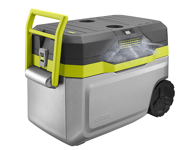 Ryobi Keeps it Chill with this Air Conditioned Cooler at werd.com