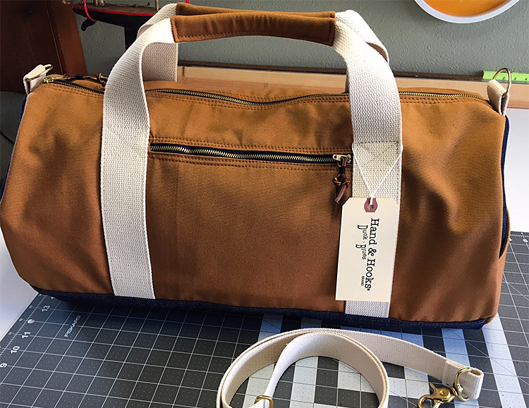 A Tough, American-Made Duffle From Hand & Hooks at werd.com