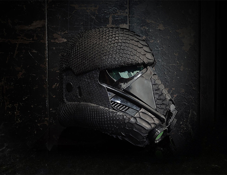 ELEMNT Introduces a Full-Size Star Wars Death Trooper Helmet at werd.com