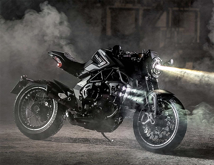 MV Agusta Introduces Futuristic RVS #1 at werd.com
