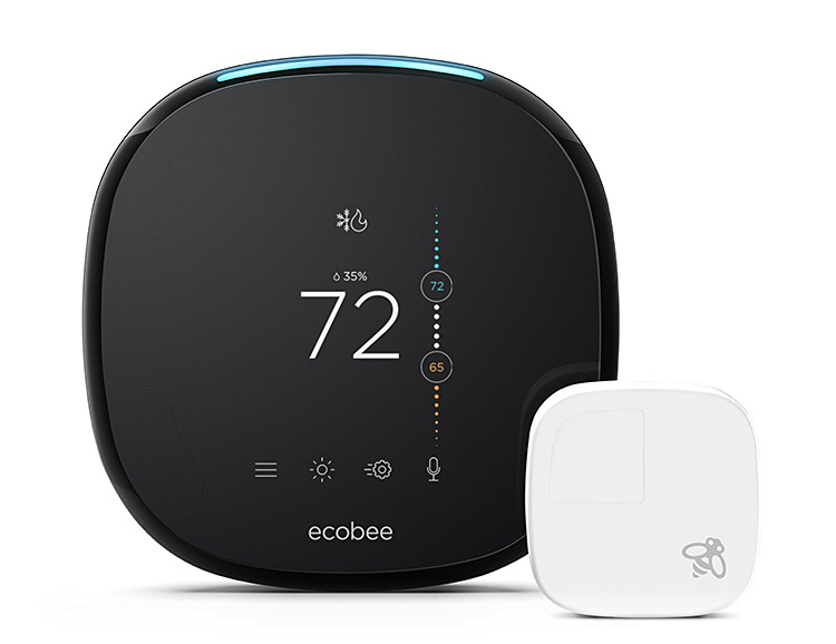 Ecobee 4 is the First Smart Thermostat with Alexa Built-in at werd.com