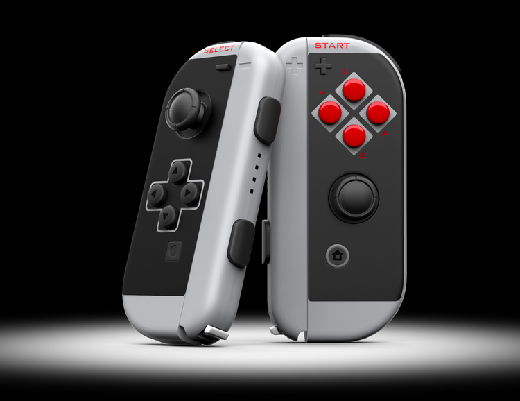 New Nintendo Switch Controllers with Vintage Vibes at werd.com