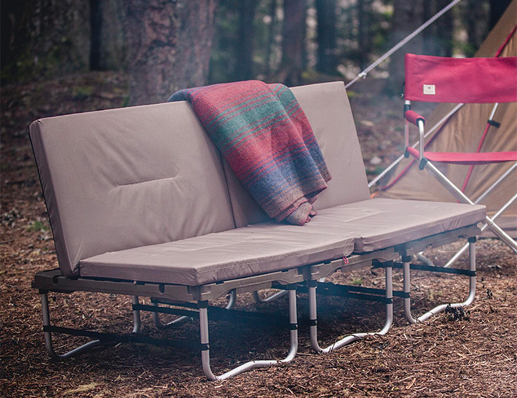 Kick Back & Chill on Snow Peak's Camp Couch at werd.com