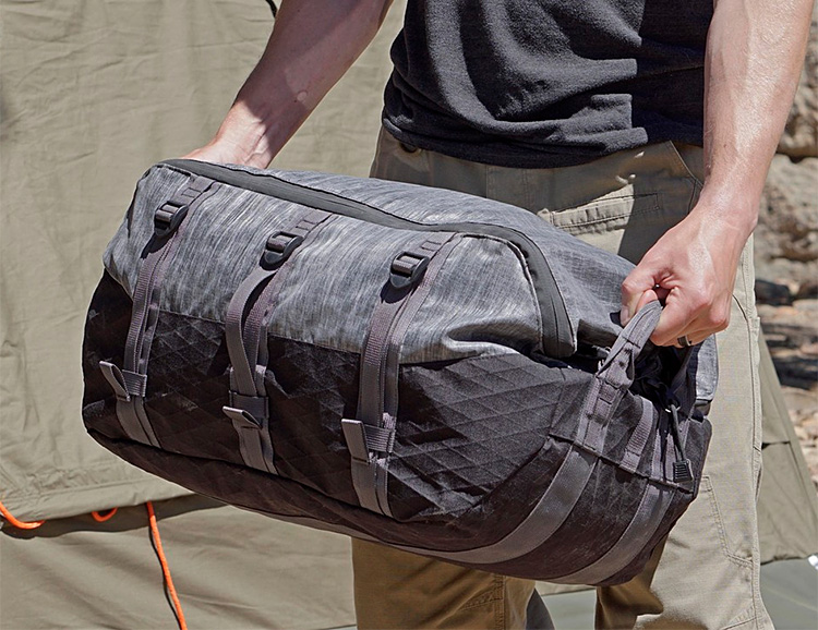 TAD's Axis Expedition Duffel is Purpose-Built for the Long Haul at werd.com