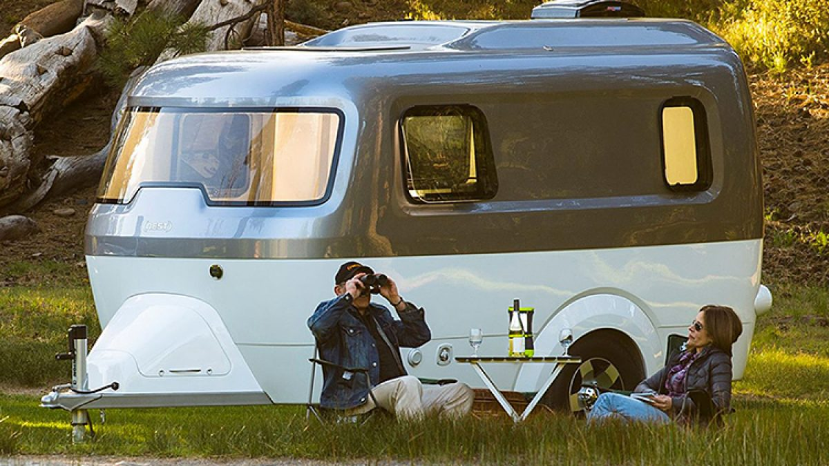 Airstream Introduces The Nest, Its First Fiberglass Camper