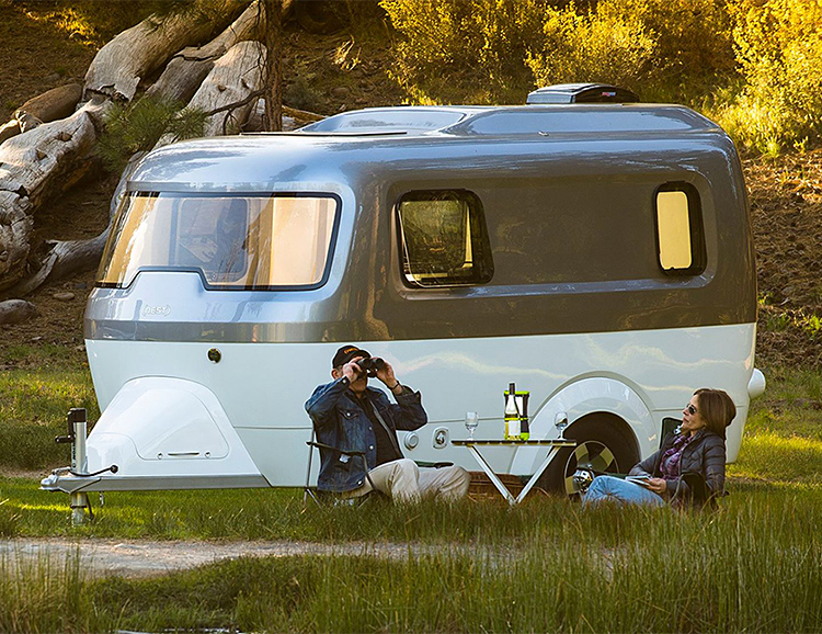 Airstream Introduces The Nest, Its First Fiberglass Camper at werd.com